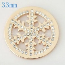 33 mm Alloy Coin fit Locket jewelry type020