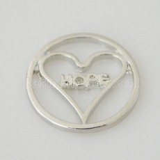 20mm alloy Floating plate fit 30mm lockets