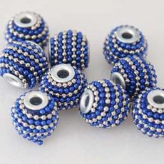 3.5mm hole Clay arts beads