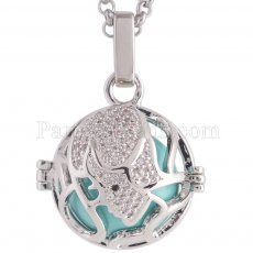 Angel Caller constellation ZODIAC-Virgo Necklace fit 16mm balls exclude ball AC3782S