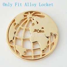 33 mm Alloy Coin fit Locket jewelry type087