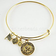Saint Anthony Charm Bangle-Selflessness • Guidance • Illumination