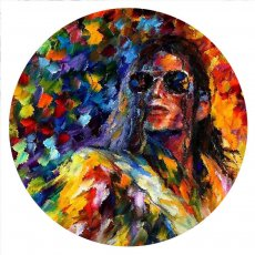 20MM Painted Michael Jackson design enamel metal C5815 print snaps jewelry