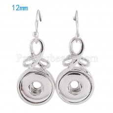 Snaps metal earring KS0977-S fit 12mm chunks snaps jewelry