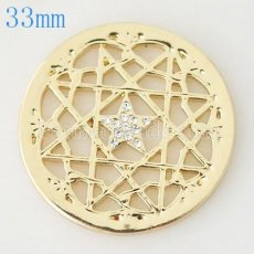 33 mm Alloy Coin fit Locket jewelry type044