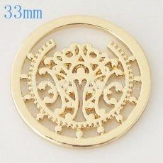 33 mm Alloy Coin fit Locket jewelry type034