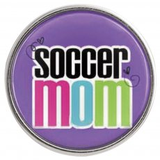 20MM snap glass Soccer mother C1031 interchangeable snaps jewelry
