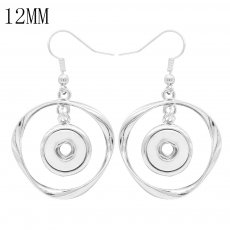 snap Earrings fit 12MM snaps style jewelry KS1260-S