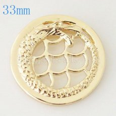 33 mm Alloy Coin fit Locket jewelry type038