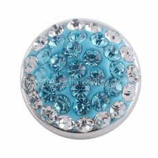 Small size snaps Style chunks with blue rhinestone KS2710-S