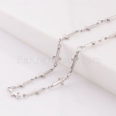 Cross Stainless steel necklace TA3001 60CM new type Necklace fashion Jewelry
