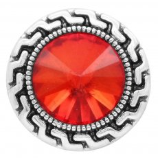 20MM snap Jul. Birthstone red KC6580 broches intercambiables joyería