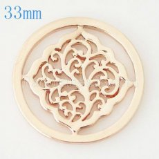 33 mm Alloy Coin fit Locket jewelry type031