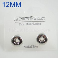Fit 12mm Snaps Earrings ajustement snaps chunks