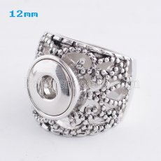 9# snaps metal Ring fit mini 12mm snap chunks