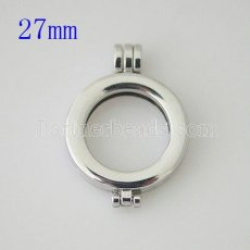 25MM Alloy coin locket pendant Fit 25MM coin disc