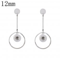 snap earring fit 12MM snaps style jewelry KS1228-S
