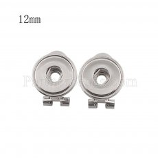 Snaps metal earring KS1112-S fit 12mm chunks snaps jewelry