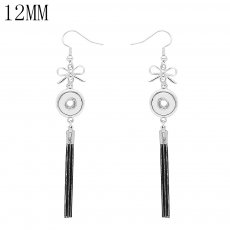 snap Earrings fit 12MM snaps style jewelry KS1267-S