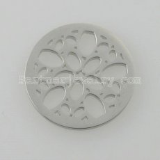 25MM stainless steel coin charms fit  jewelry size