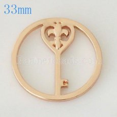 33 mm Alloy Coin fit Locket jewelry type032