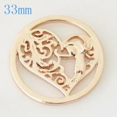 33 mm Alloy Coin fit Locket jewelry type037