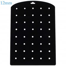 1PC snap  PVC suede display card fit 40pcs 12mm snaps 15*21CM