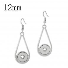 snap earring fit 12MM snaps style jewelry KS1217-S