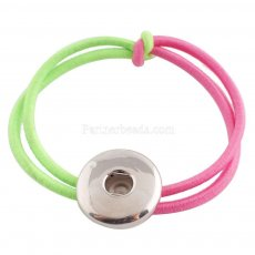 Hair accessories with one button KC0615  Fit 18/20mm Snaps jewelry