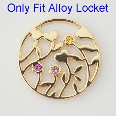 33 mm Alloy Coin fit Locket jewelry type082