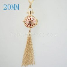 Angel Caller Pendants with chian fit 16mm balls exclude ball