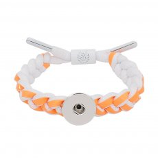 1 buttons Orange Rope  KC0511  new type Bracelet fit 20mm snaps chunks