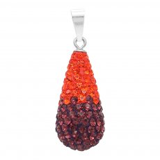 Drops water pendant  with High quality  STELLUX Austrian crystal