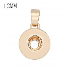 snap Fashion gold Pendant with pendant fit 12MM snaps style jewelry KS0380-S