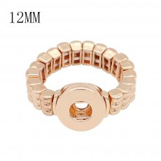 1 botones 12MM snap gold Ring fit broches joyería KS1305-S