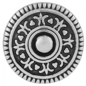20MM round snap Antique Silver Plated black Enamel KB7001 snaps jewelry