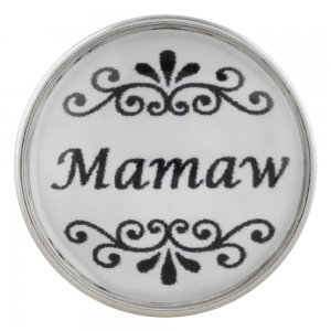 20MM mother snap glass mamaw KC2160 interchangeable snaps jewelry