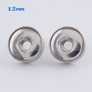 Fit 12mm Snaps Stainless steel Earrings fit snaps chunks KS0942-S