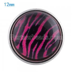 12MM snaps glass of design KT0041 interchangable snaps jewelry