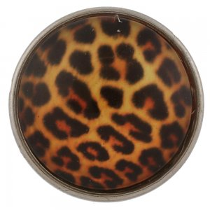 20MM snap glass Leopard KB2502-AA broches intercambiables joyería