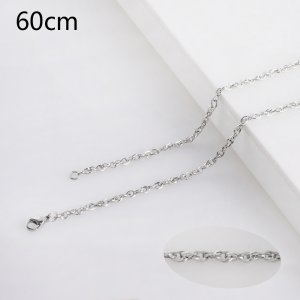 60CM Stainless steel fashion rope chain fit all jewelry