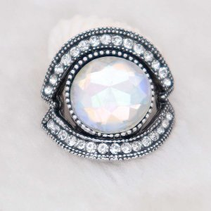 20MM design snap silver Plated with colorful rhinestone KC6910 snaps jewelry