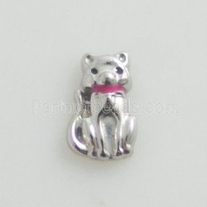 Floating Locket Charms - Cat