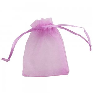 1 piece Small GIFT BAG 7X9 CM rose color