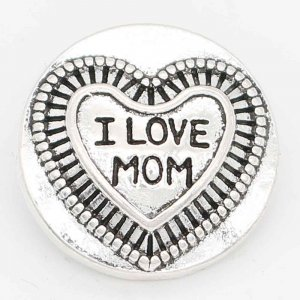 20MM snap Mother's day sliver Plated with  KC6722 snaps jewelry