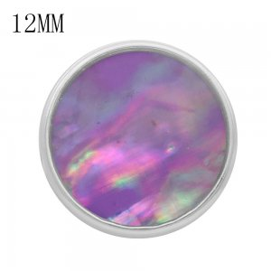 12MM snap With colorful shell KS9715-S interchangable snaps jewelry