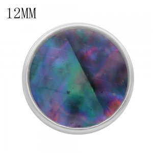 12MM snap With colorful shell KS9714-S interchangable snaps jewelry