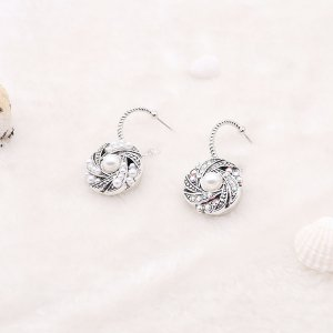 snap Earrings fit 20MM snaps style jewelry KC0889