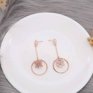 12MM design Butterfly rose gold snap with colorful rhinestone KS7076-S snaps jewelry