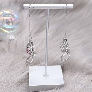 snap Earrings fit 12MM snaps style jewelry KS1292-S